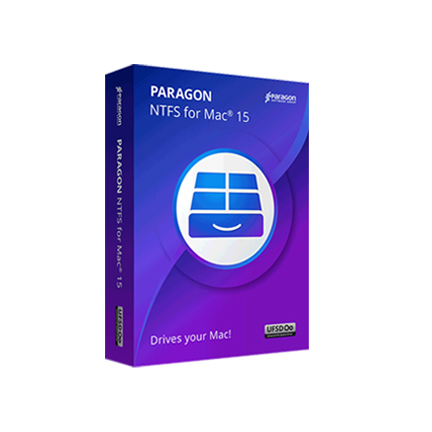 Paragon NTFS for Mac 15 简体中文【标准版 + Mac】